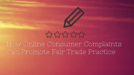 How Online Consumer Complaint